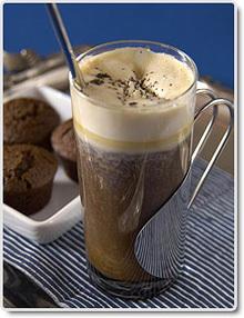 kaffedrink med rom