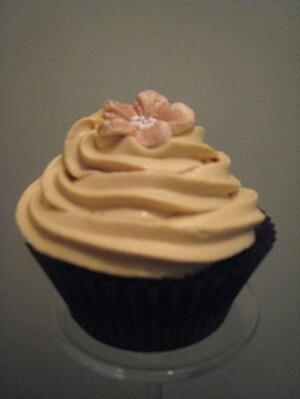 frosting som inte är så söt cupcake