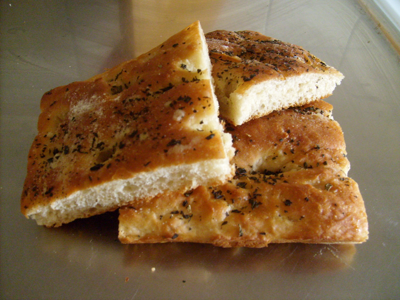 foccacia bröd i långpanna