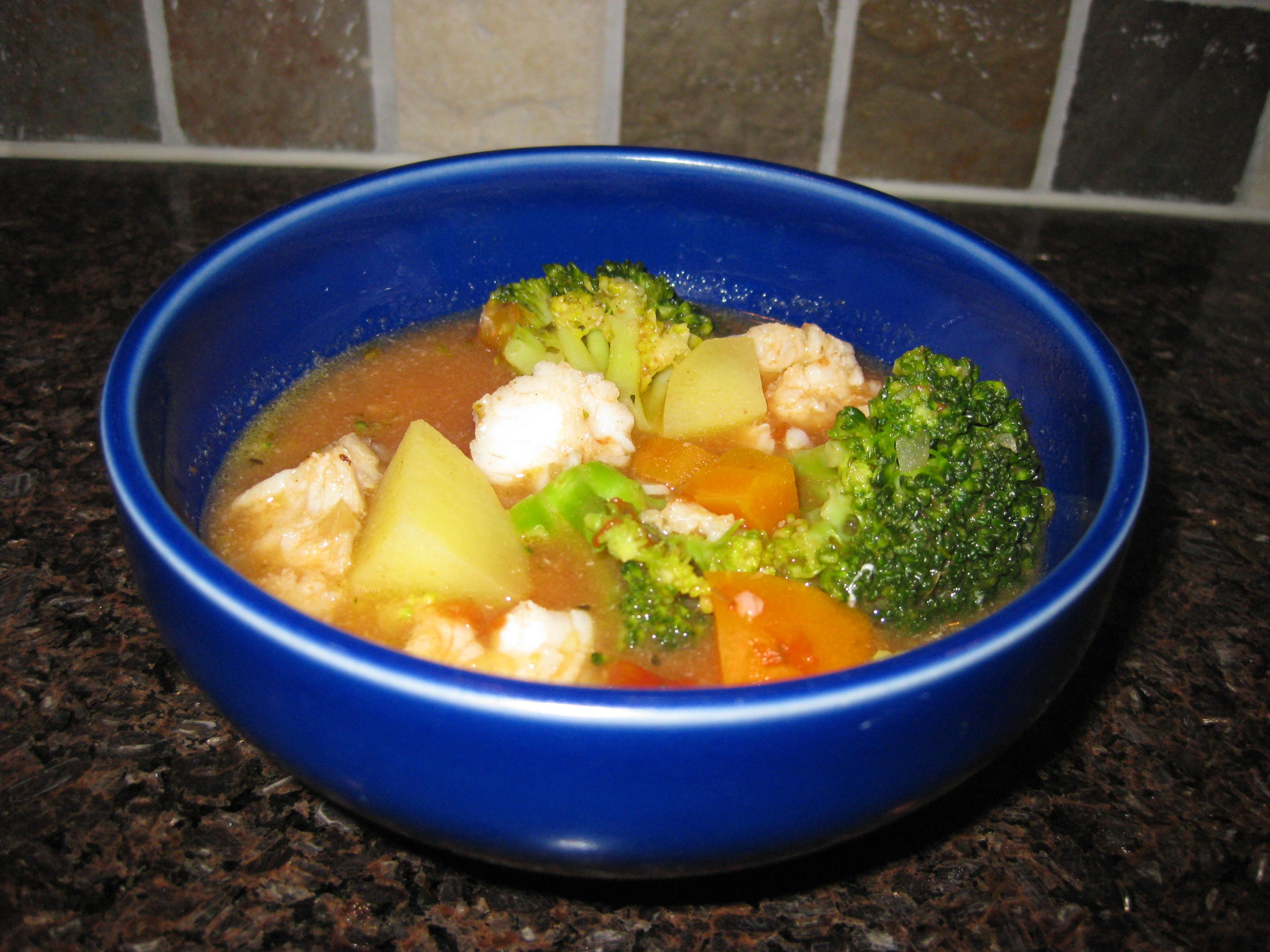 broccoli torsk i ugn