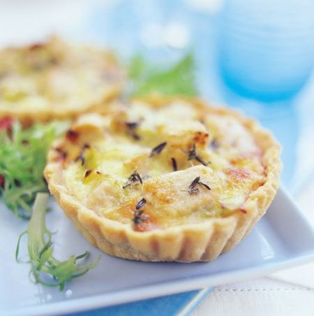 quiche vegetarisk