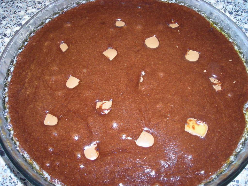kladdig kladdkaka utan vaniljsocker