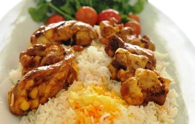 arabisk kyckling med ris