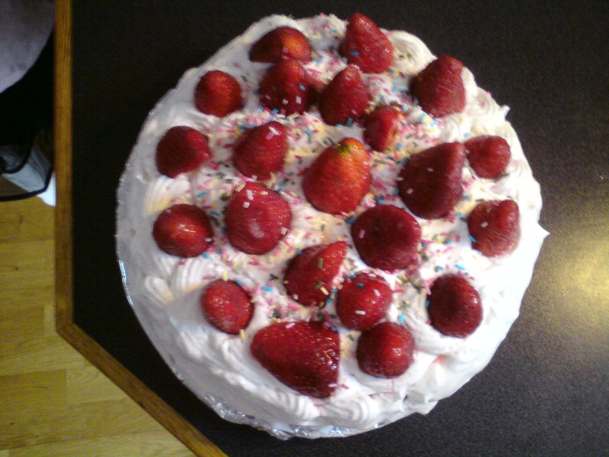 mjölkfri tårta