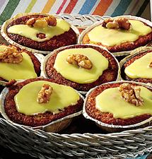 bananmuffins utan mjöl och socker