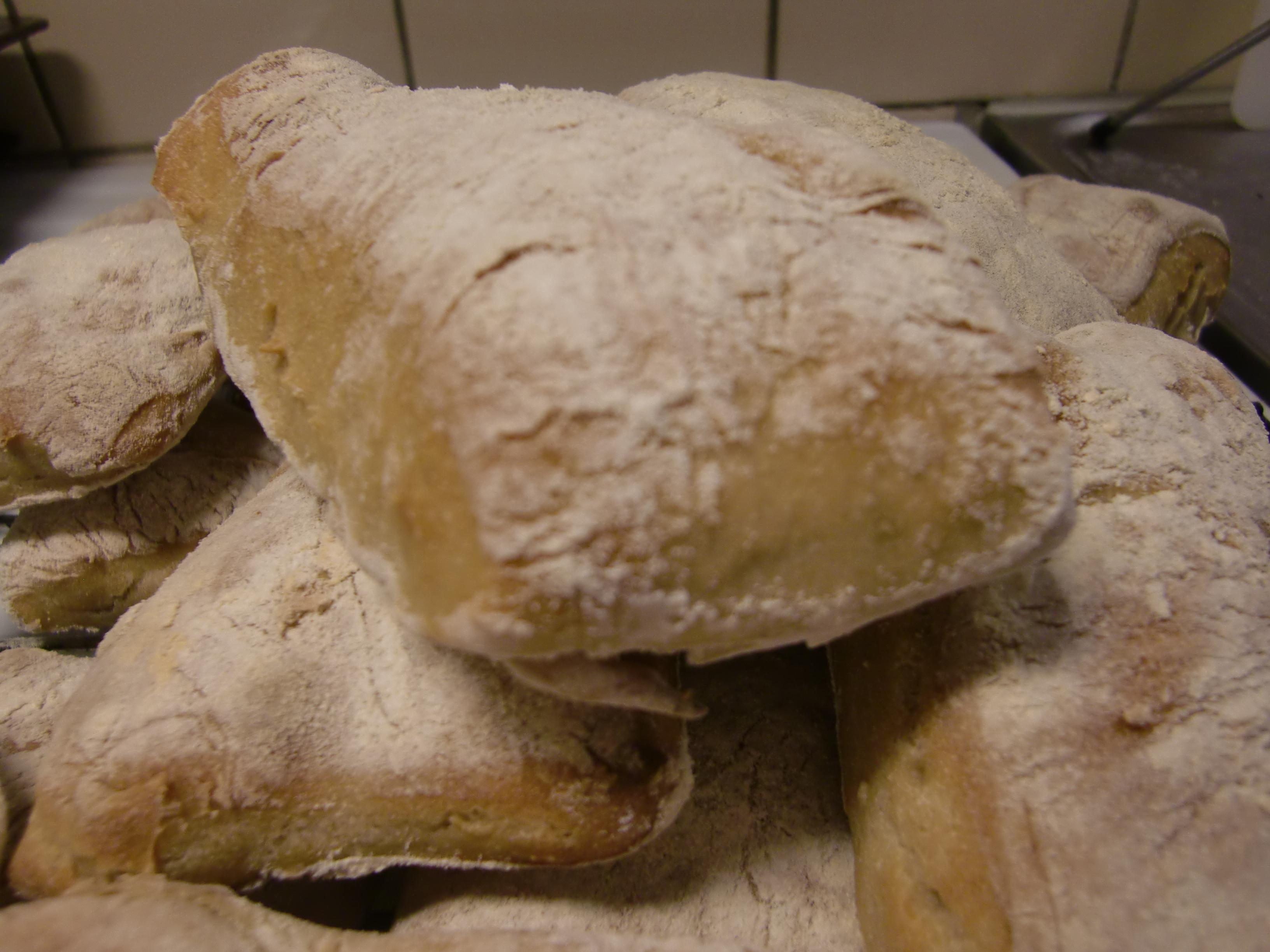 snabbt enkelt vitt bröd utan jäst