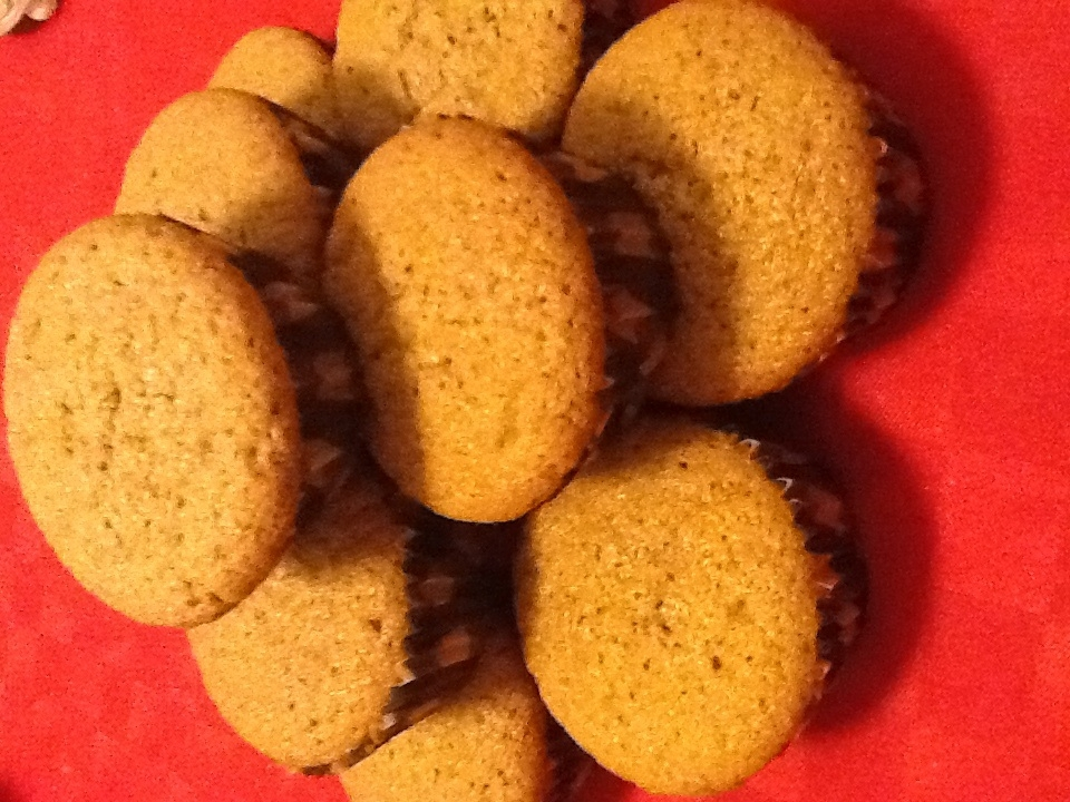 saftiga pepparkaksmuffins