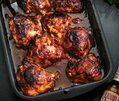 grilla kycklinglår i ugn