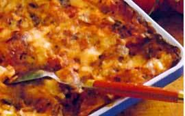 vegetarisk lasagne tomat keso purjolök