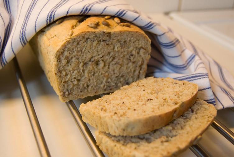 formbröd med havregryn