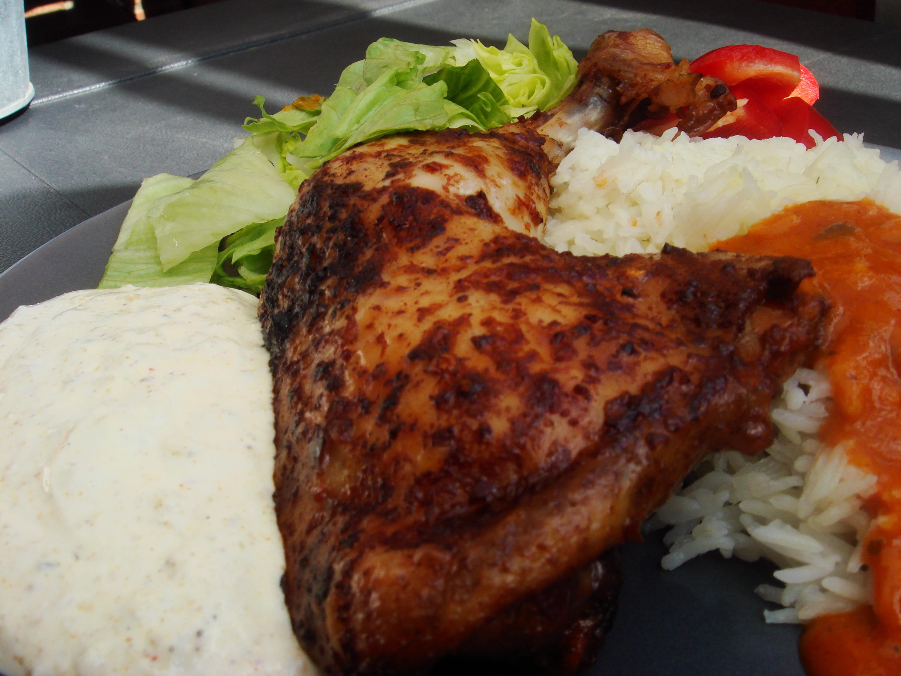 indiska kyckling wrap