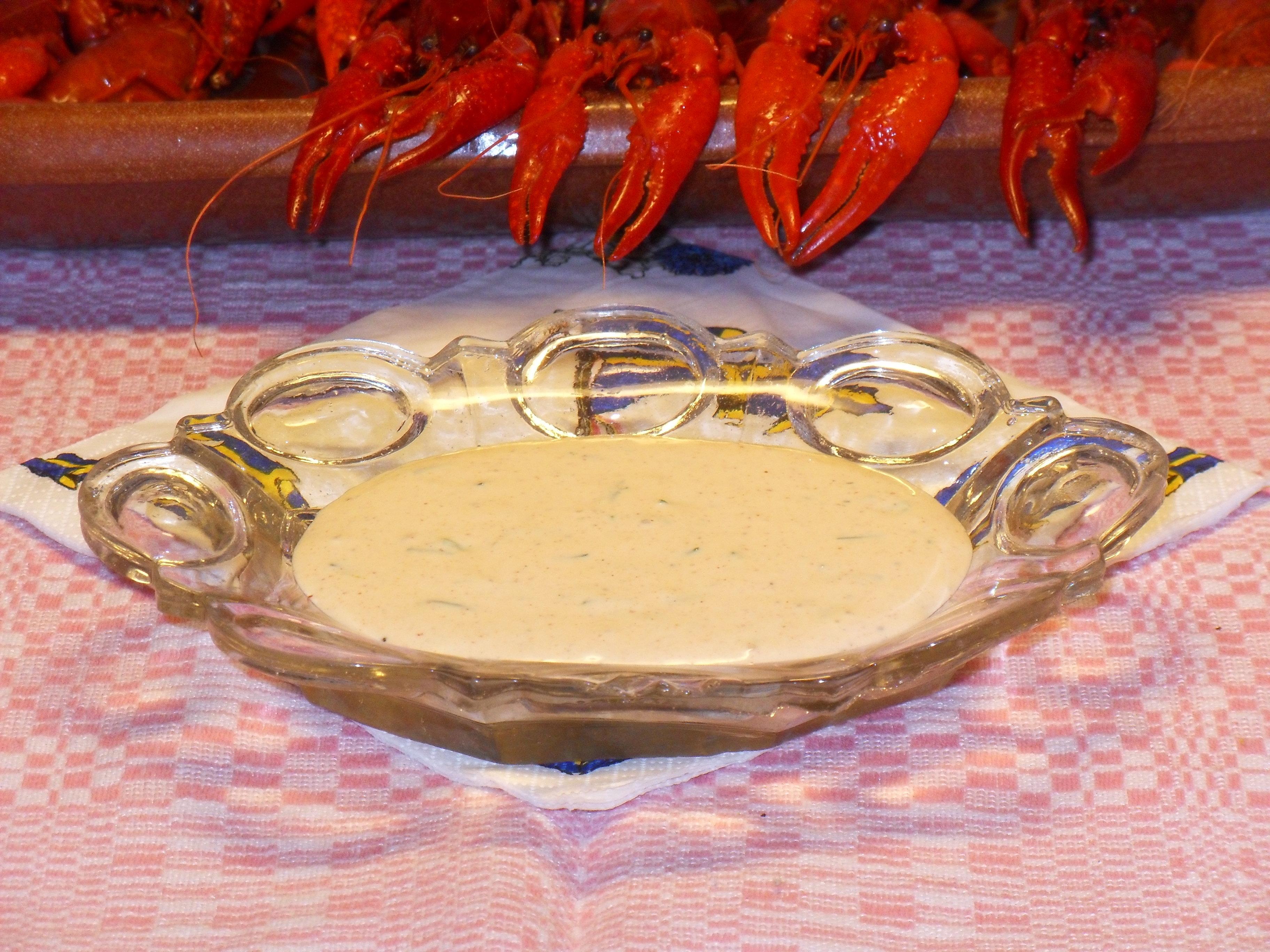 majonäs dip med vitlök