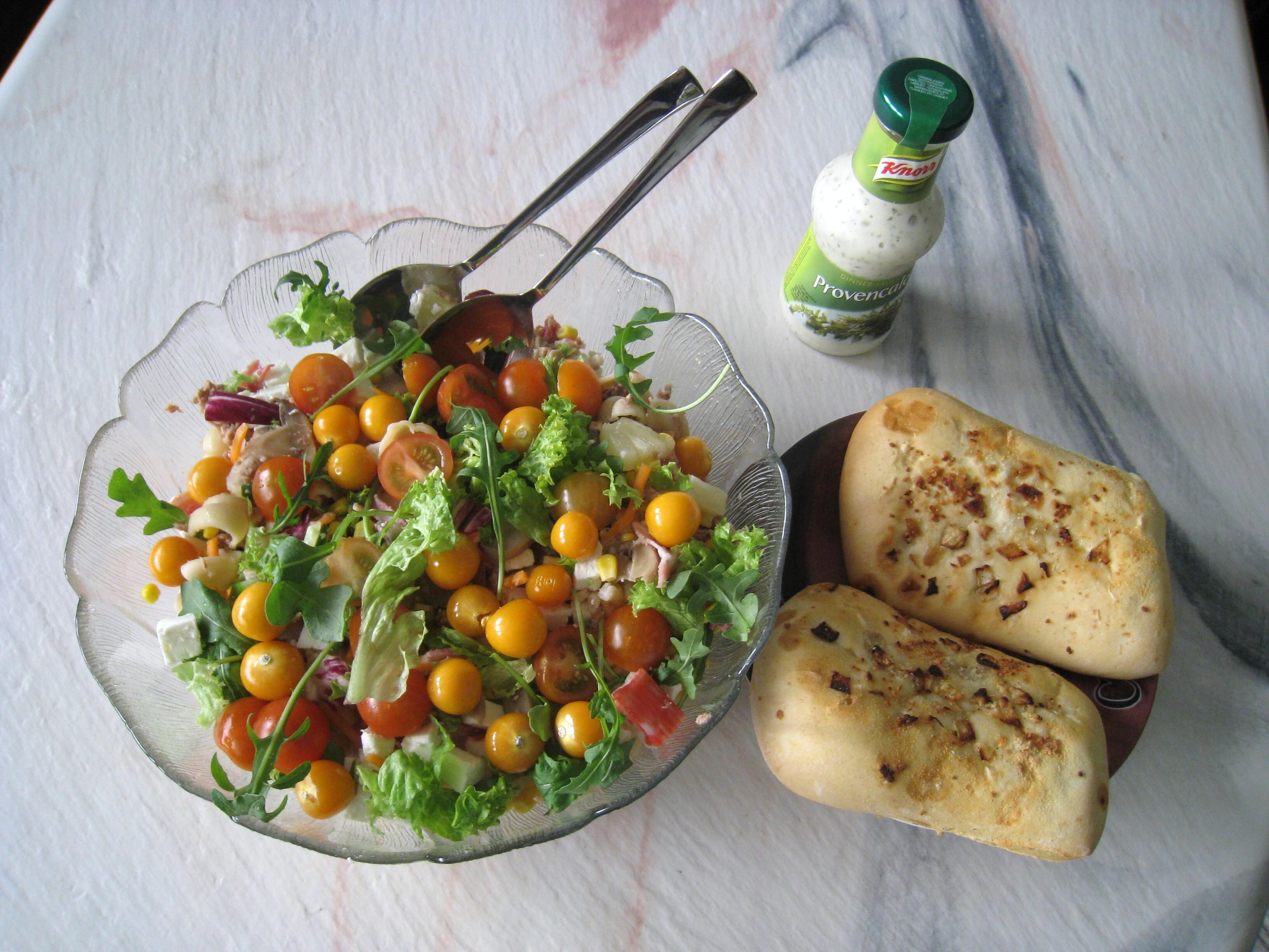 pasta tonfisk räkor