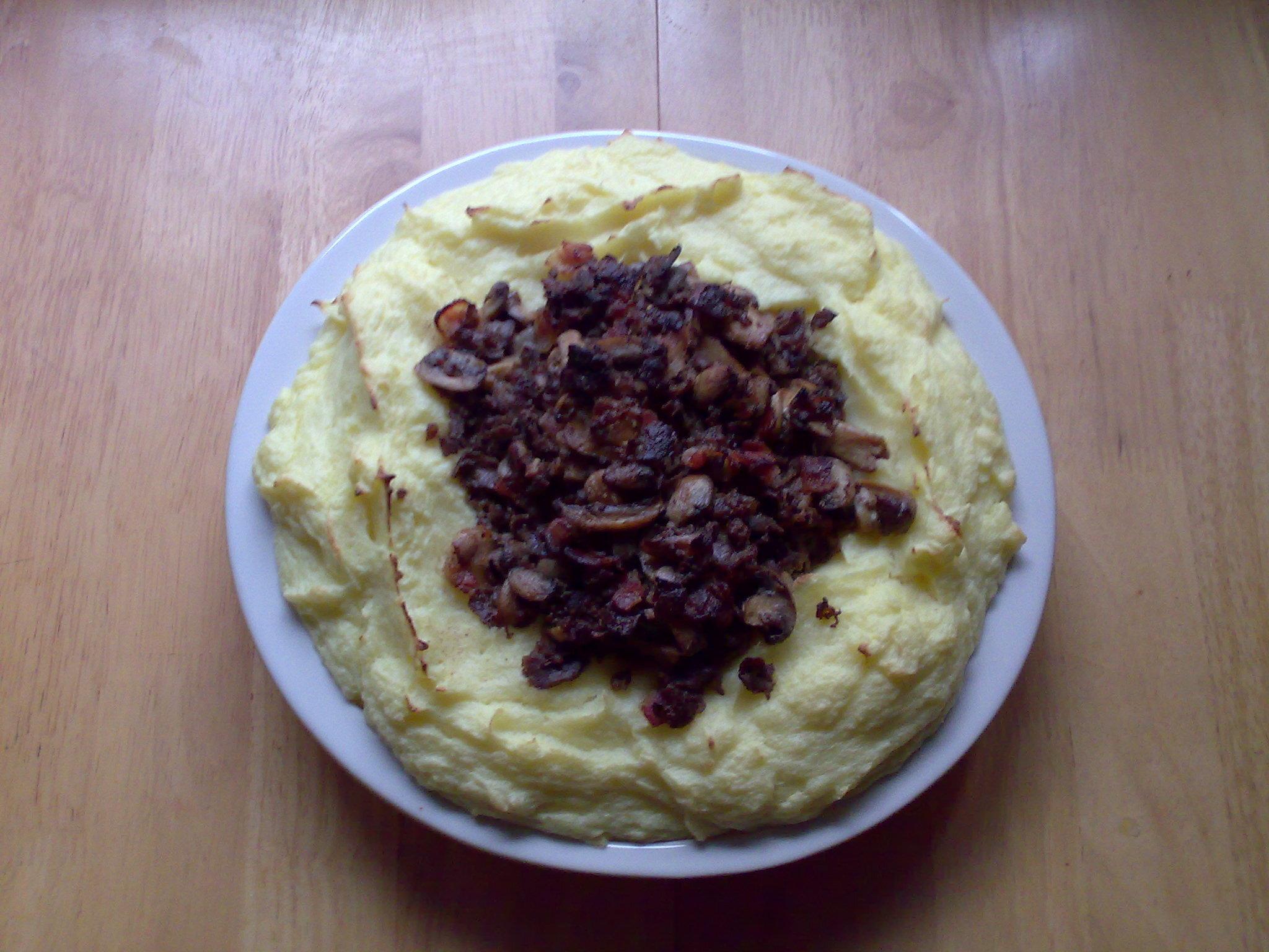 enkel mat med bacon