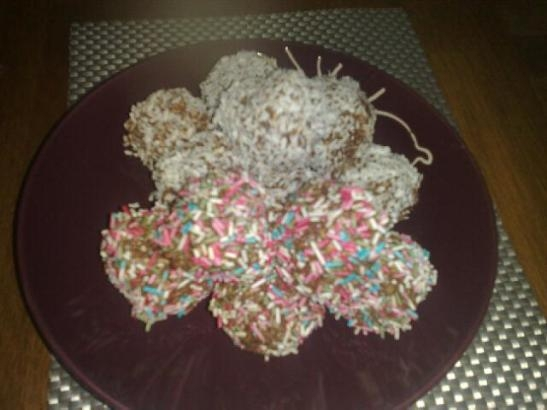 vanilj chokladbollar