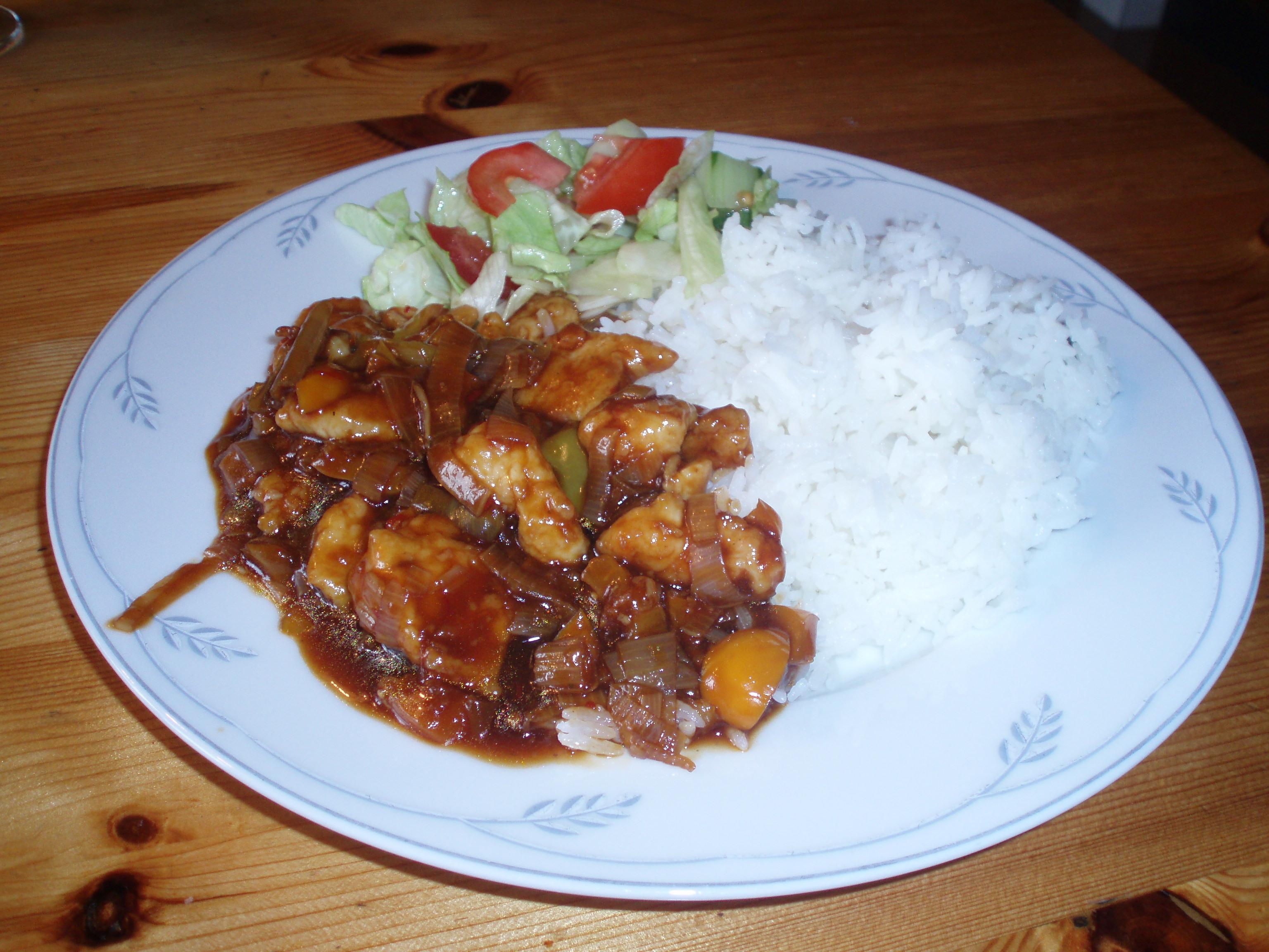 grönsaksröra med kyckling