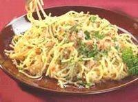 pasta carbonara utan ägg
