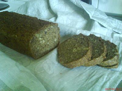 frukt och nötbröd bikarbonat