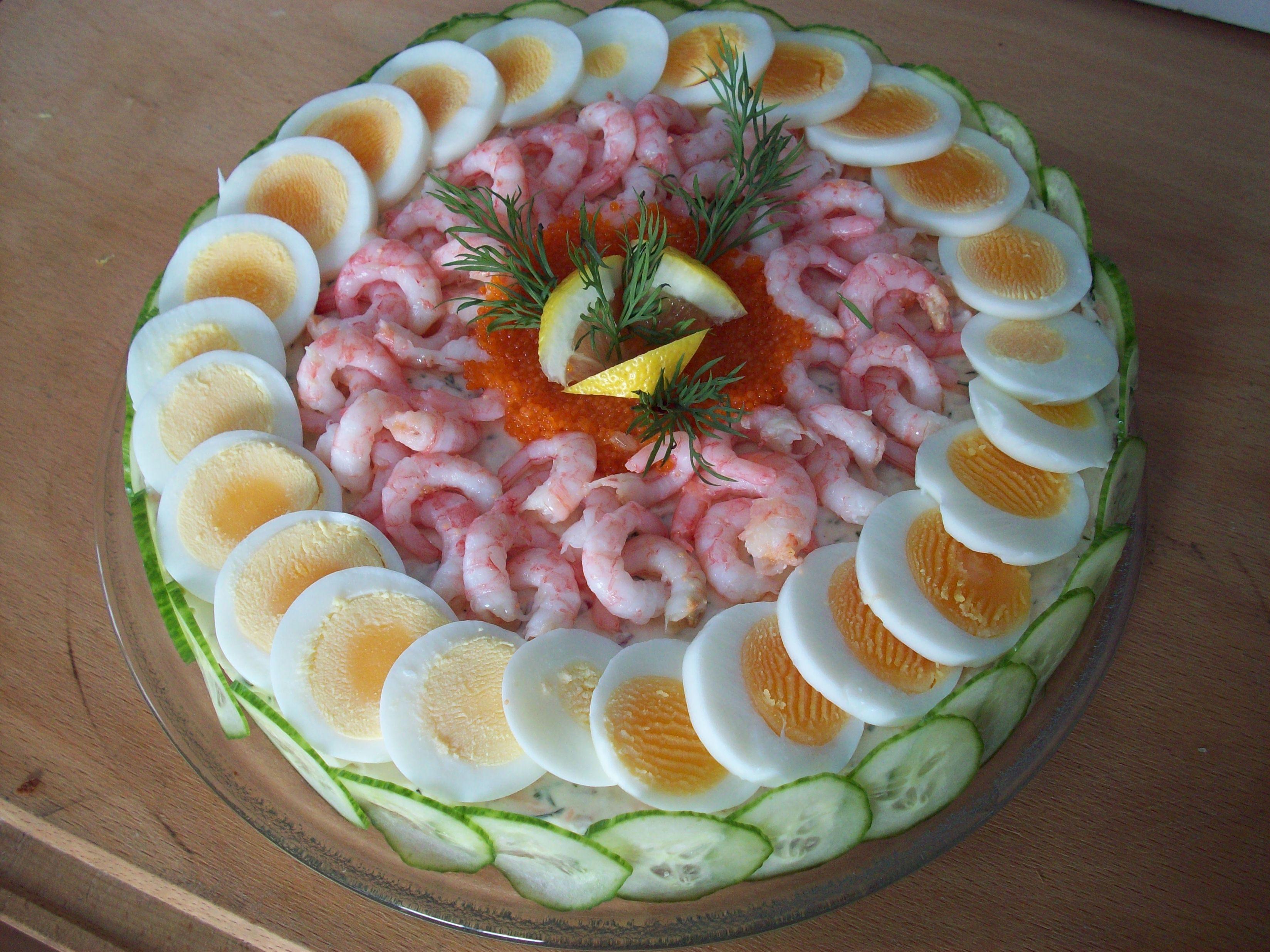laxtårta med kavring