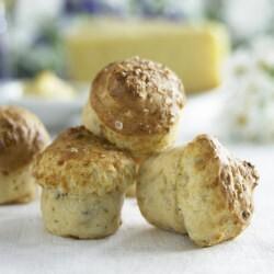 matig muffins med grahamsmjöl