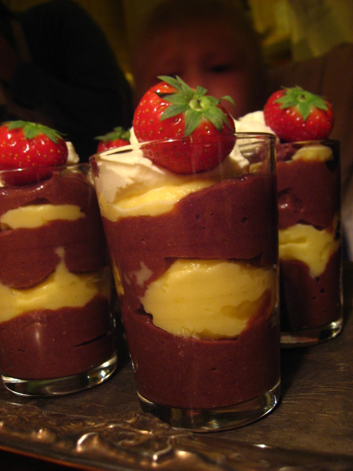 enkel chokladpudding