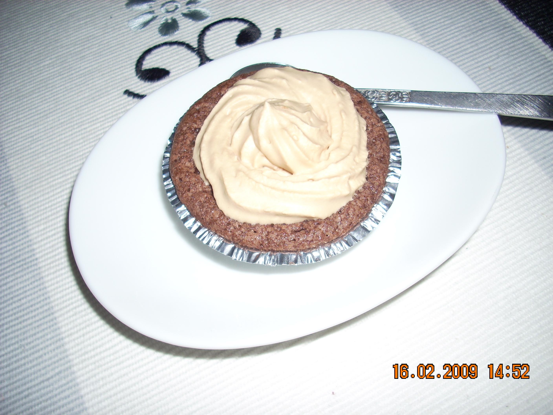 kladdmuffins vaniljtopping