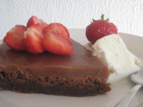 choklad kolatårta