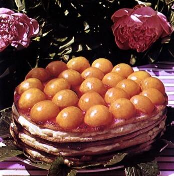 aprikosmarmelad med vanilj
