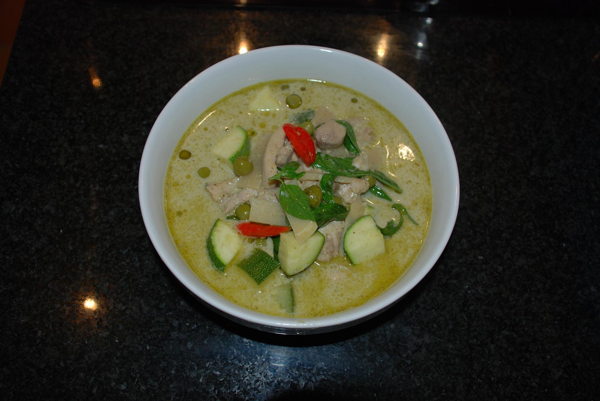 currypasta starkast röd eller grön