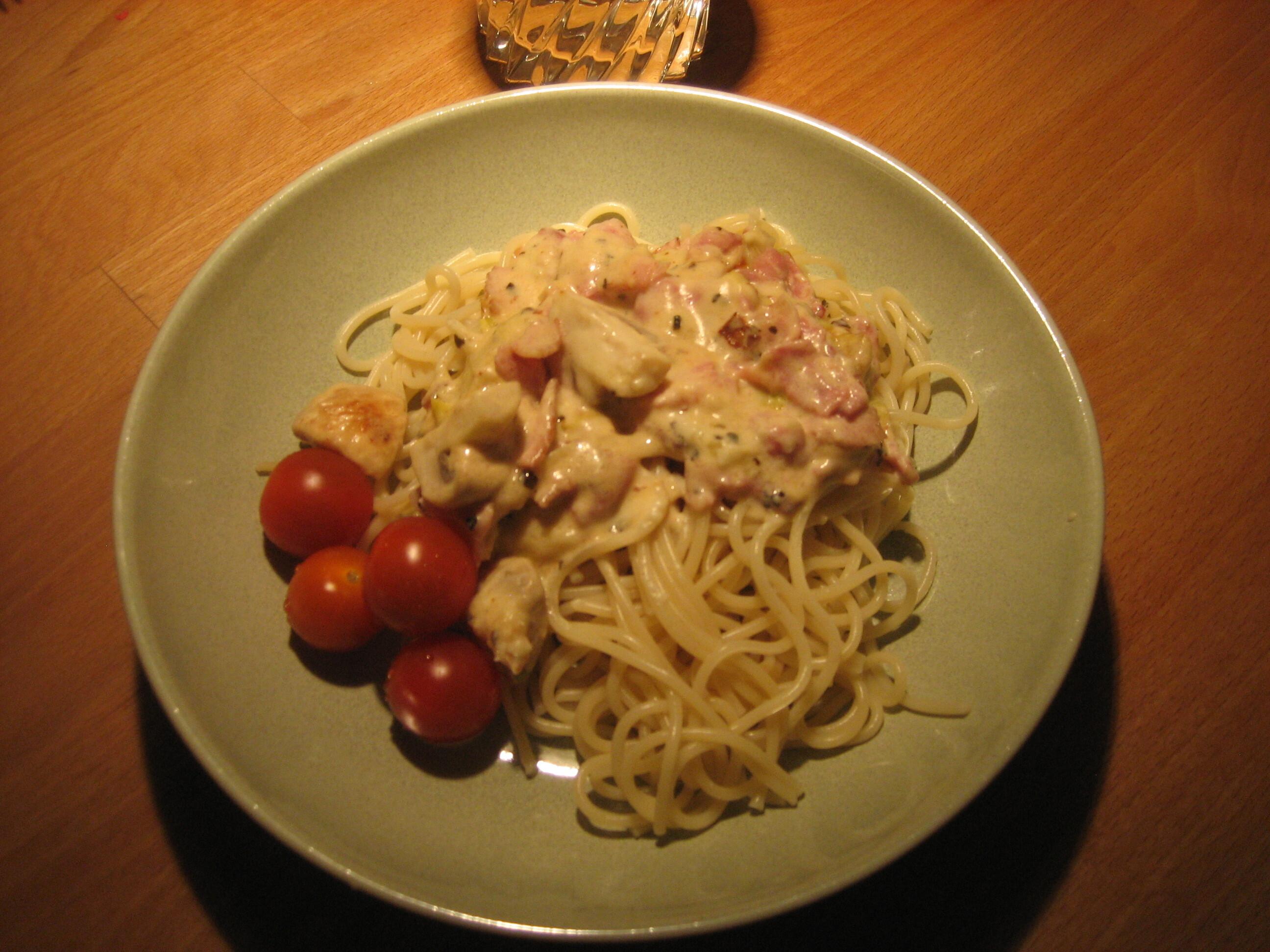 gordon ramsay pasta med svamp och purjolök