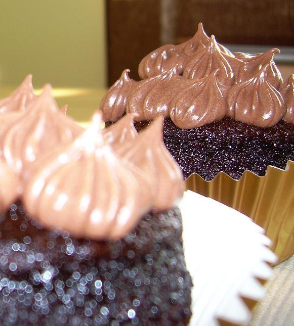 vanilj och chokladmuffins