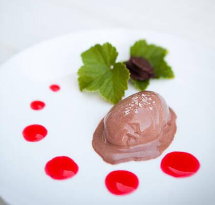 chokladglass recept
