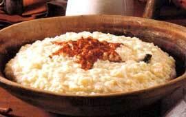 lutfiskpudding med risgrynsgröt