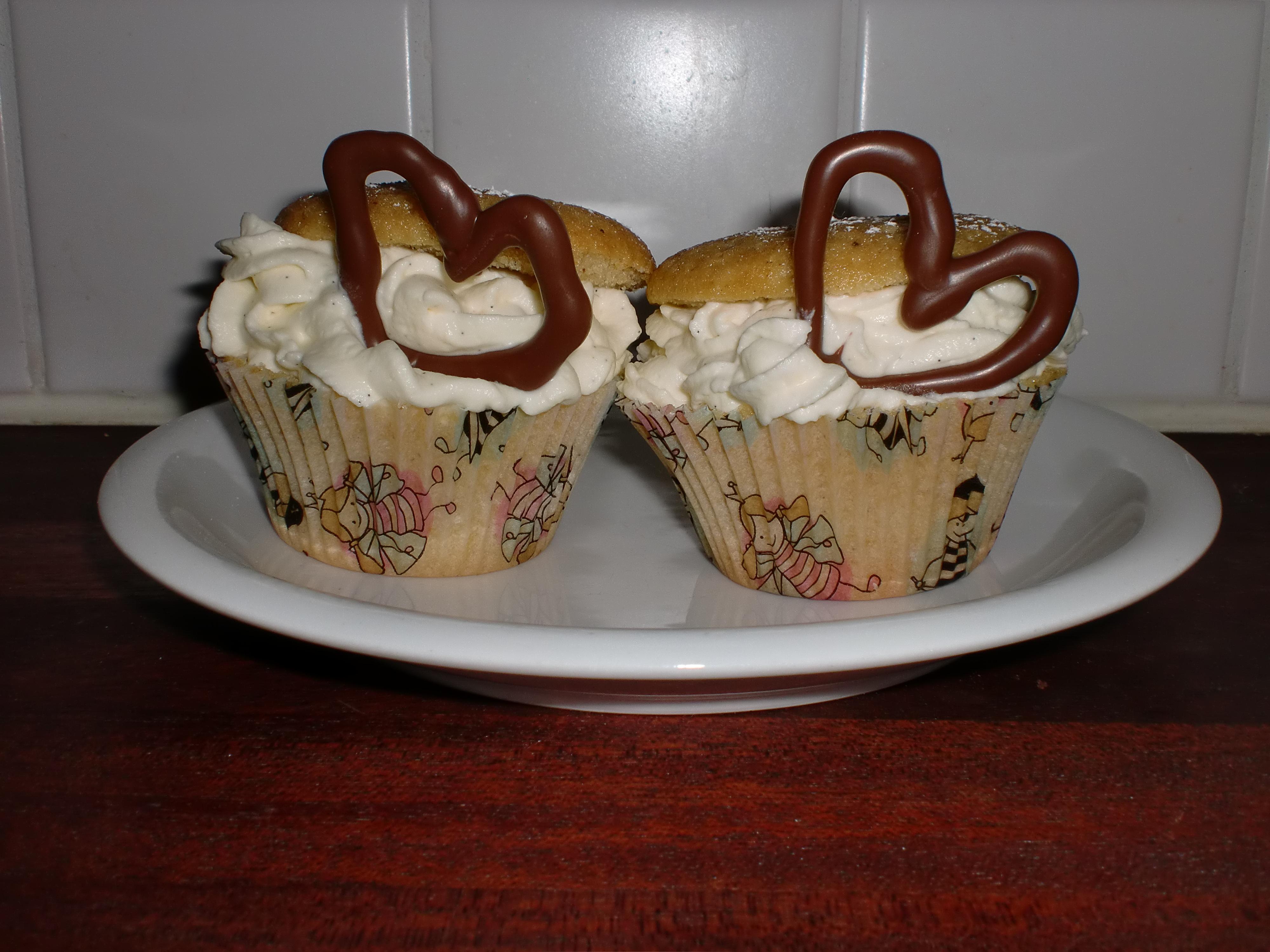 stora fluffiga muffins
