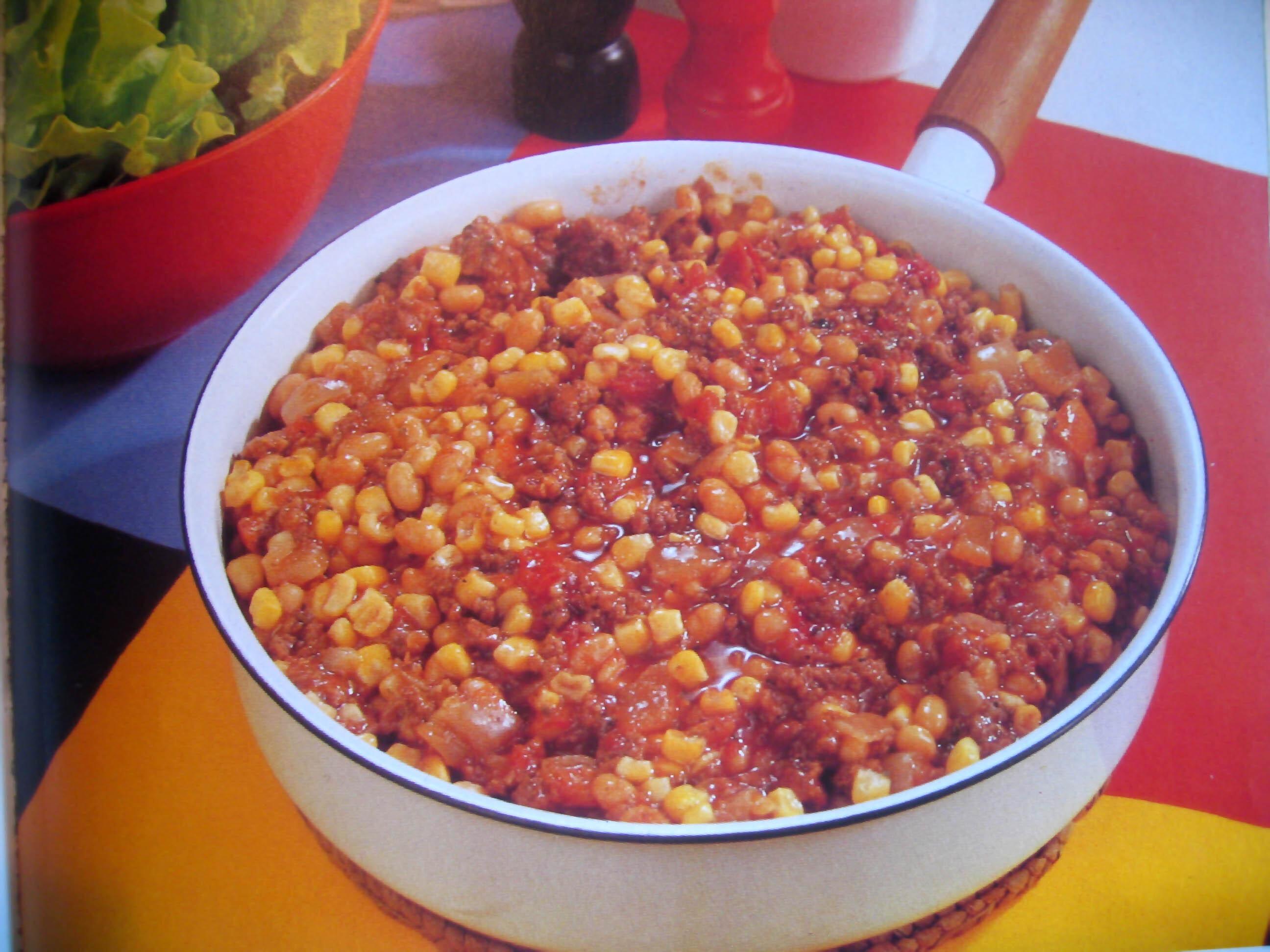 mexikanskt ris med svarta bönor