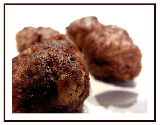 saftiga köttbullar med potatismjöl