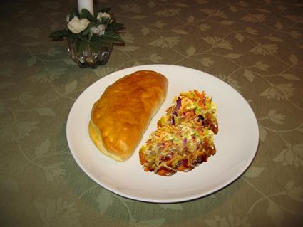 varma smörgåsar med kassler