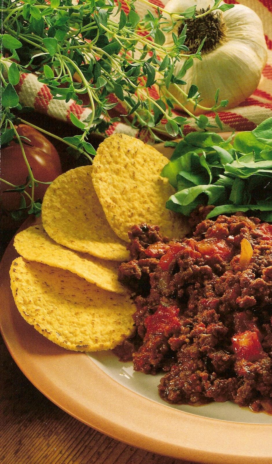 mexikansk sallad med koriander