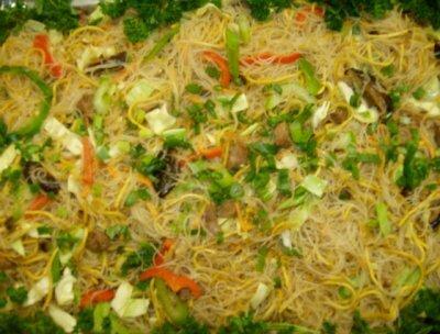filippinsk mat pansit