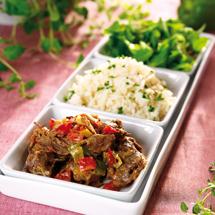 viltskav med ris