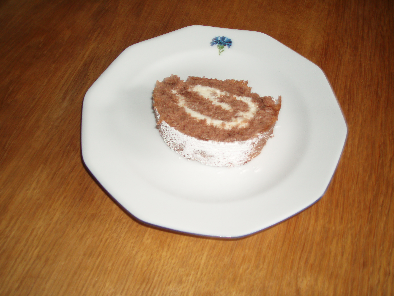 chokladrulltårta med mascarpone