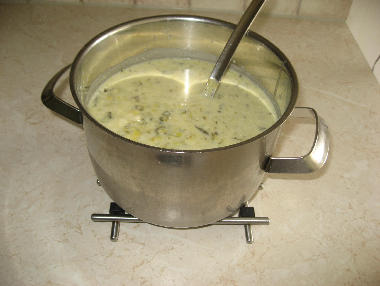 potatis purjolökssoppa enkel