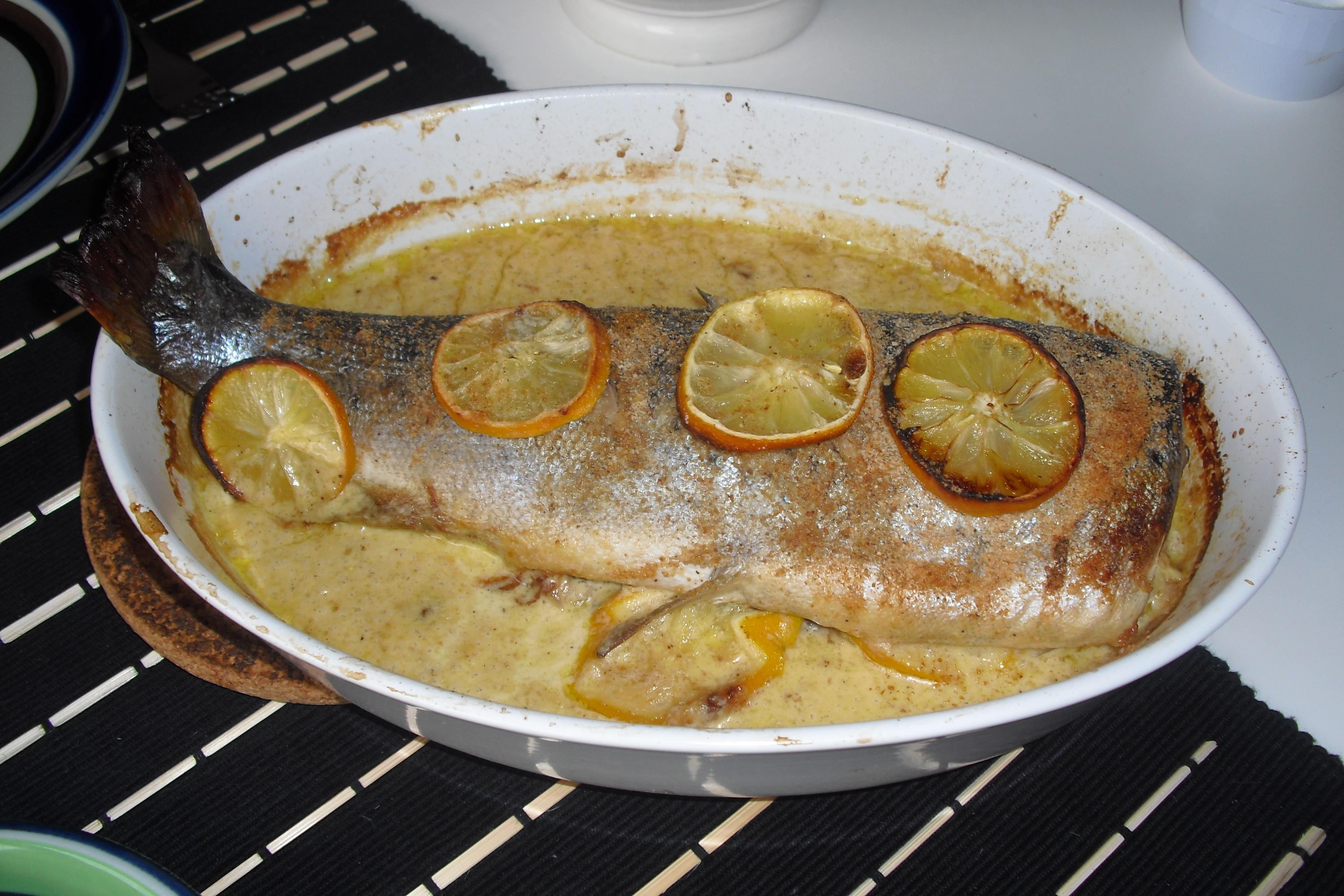 fisk sås till öring