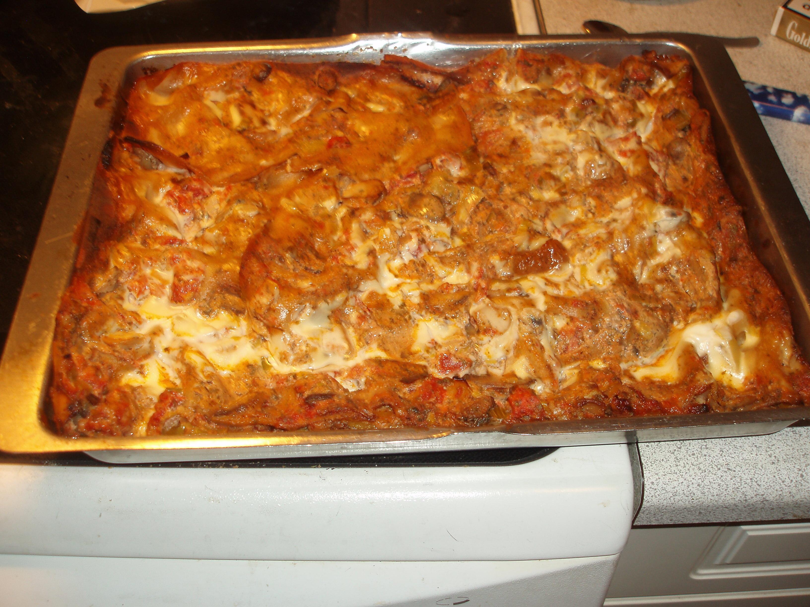 smal lasagne