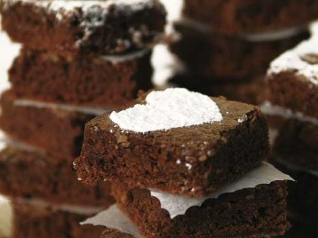 enkla brownies i långpanna