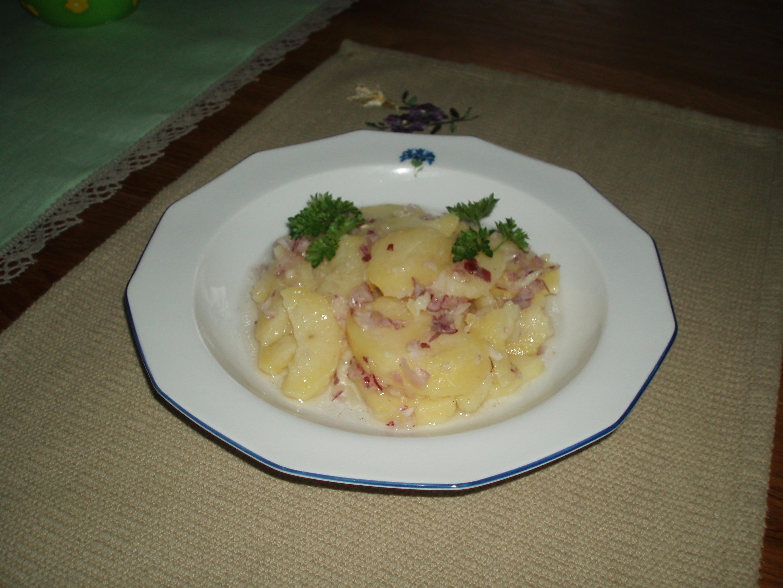 österrikisk potatissallad