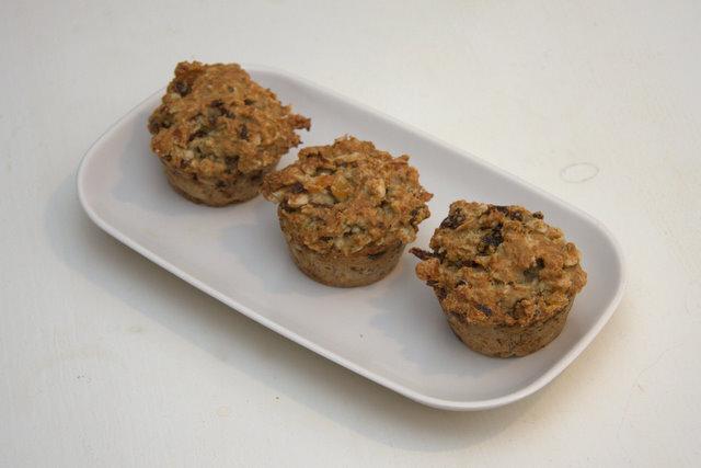 sockerfria muffins