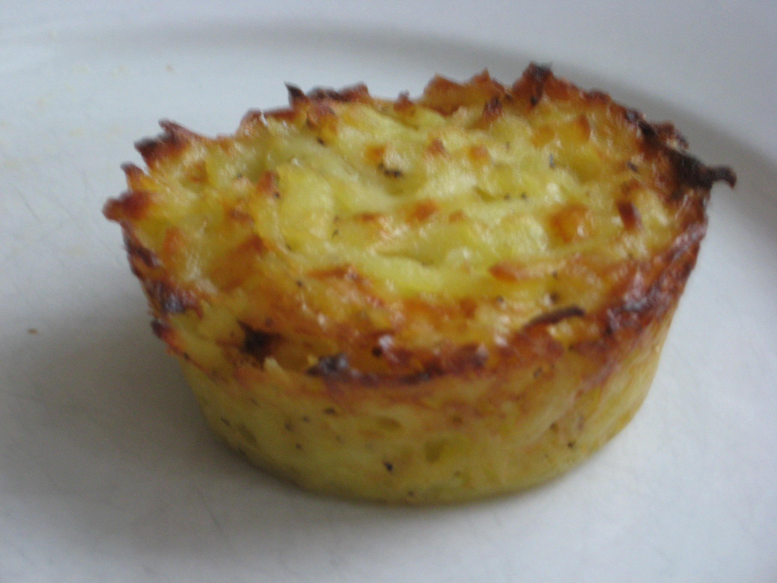 potatisbakelse i muffinsform