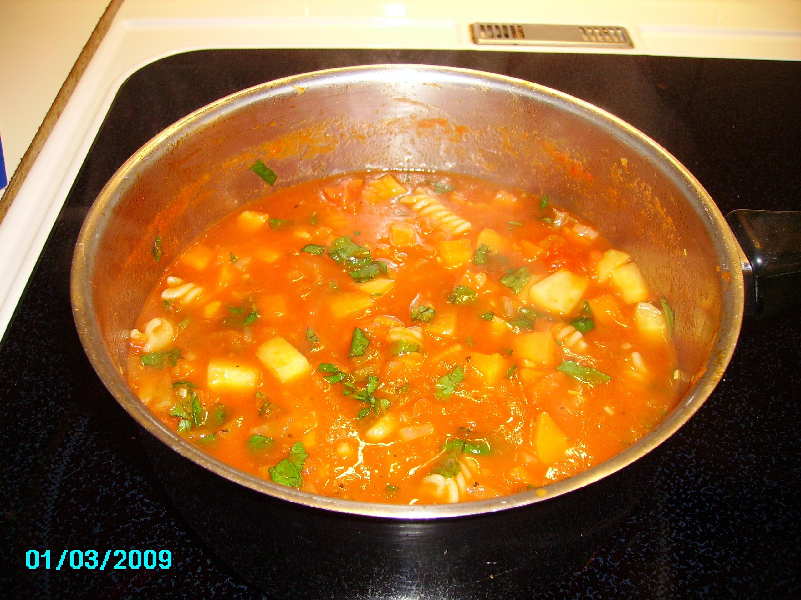 viktväktarna minestronesoppa