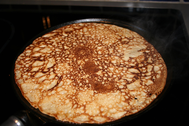 pannkakor med rågmjöl